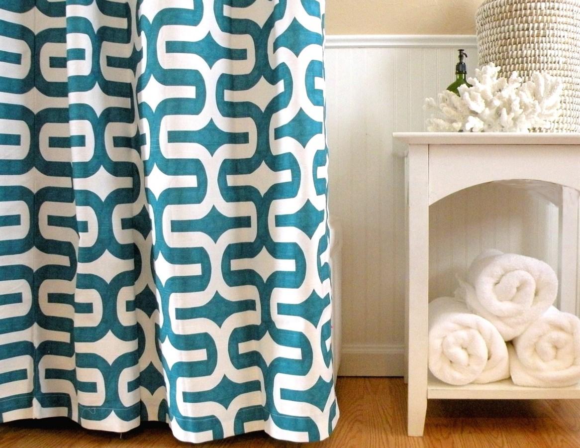 laver les rideaux de douche en coton 3 bianca. Black Bedroom Furniture Sets. Home Design Ideas